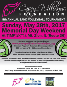 2017 CWF Volleyball Tournament